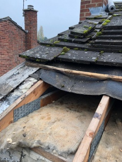 Damaged Roof Repair in Citysc